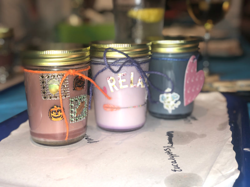 Candle Making Kit- 3 candles