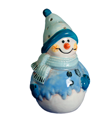 DIY Light Up Snowman Ceramic Kit