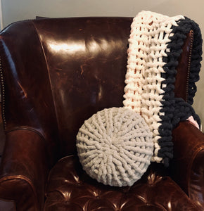 Round cozy pillow kit