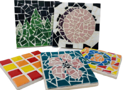 DIY Mosaic Coaster Kit For Google Private Event (international guests)