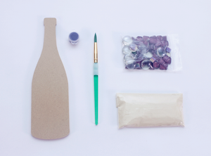 DIY Wine Bottle Mosaic Kit