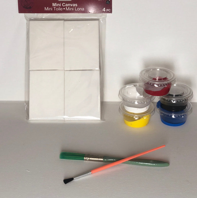 Miniature Canvas Kit