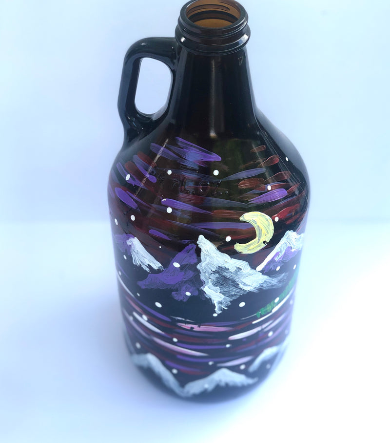 Amber Growler Painting Kit