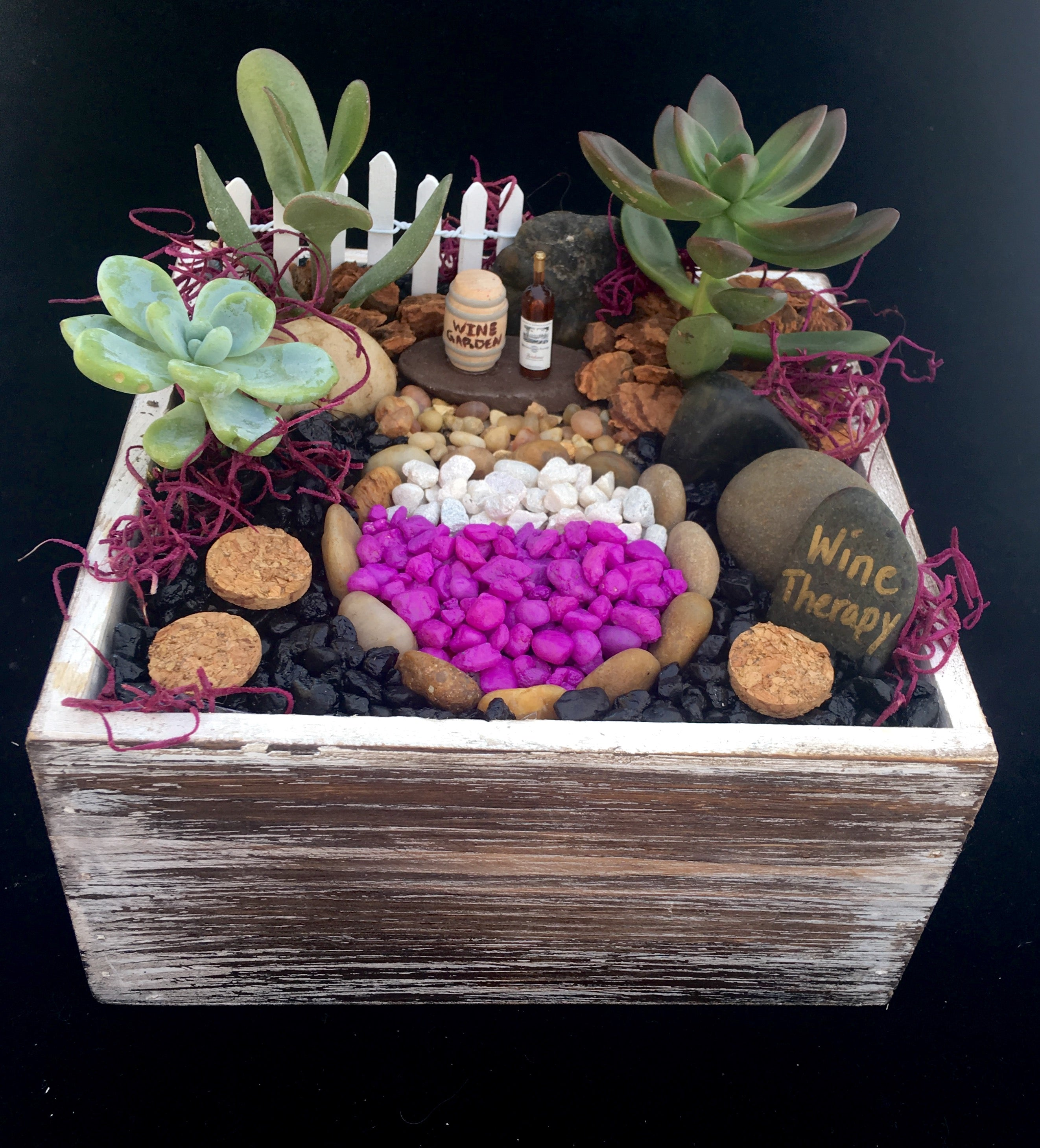 Wine Therapy Garden Planter Kit