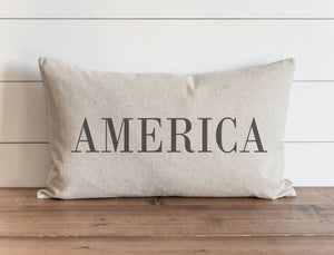 America Pillow Collection