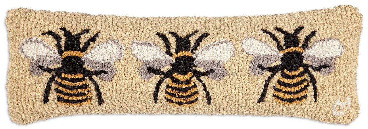 Bumble Bee Wool Pillow