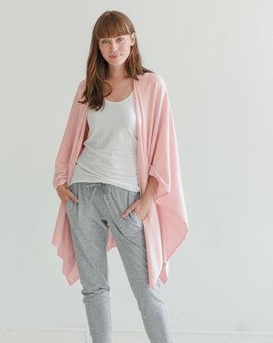 Charleston Cashmere and Cotton Wrap