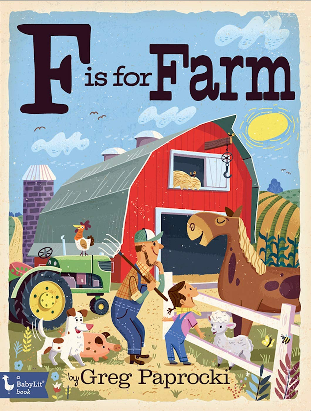 F is For Farmer: Baby Lit