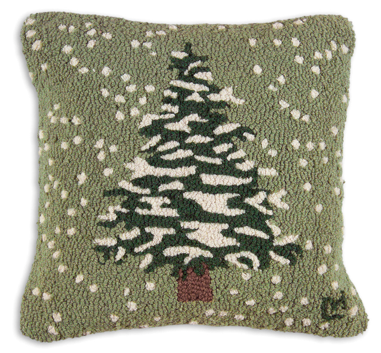 Flurries Wool Pillow
