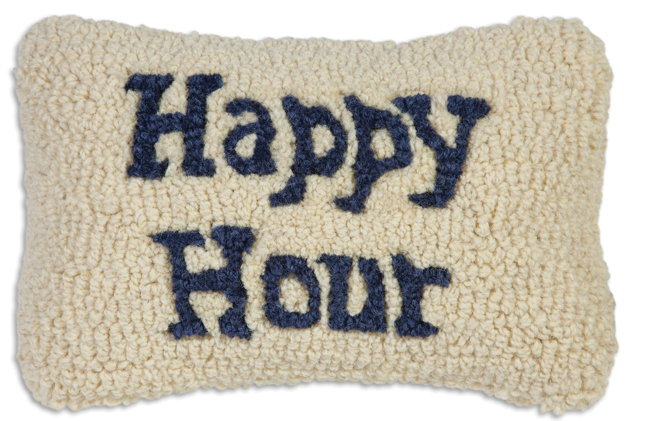 Happy Hour Wool Pillow