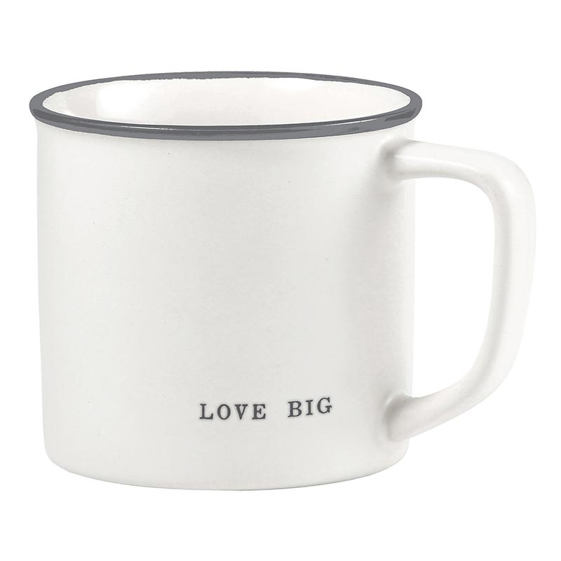 Big Mug | White + Gray