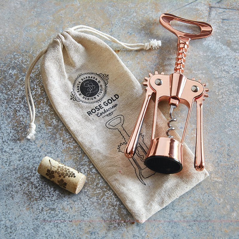 Wine Opener in Rose Gold
