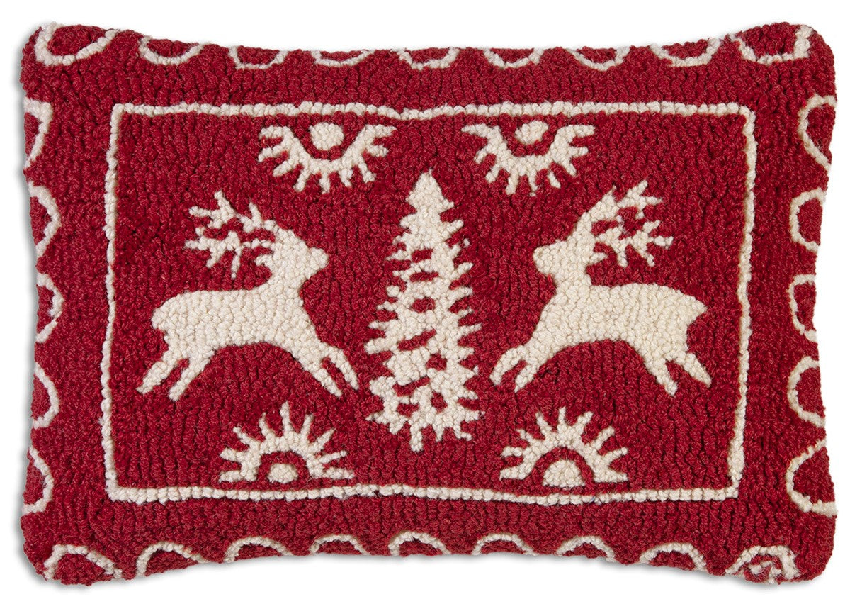 Alpine Deer Wool Pillow