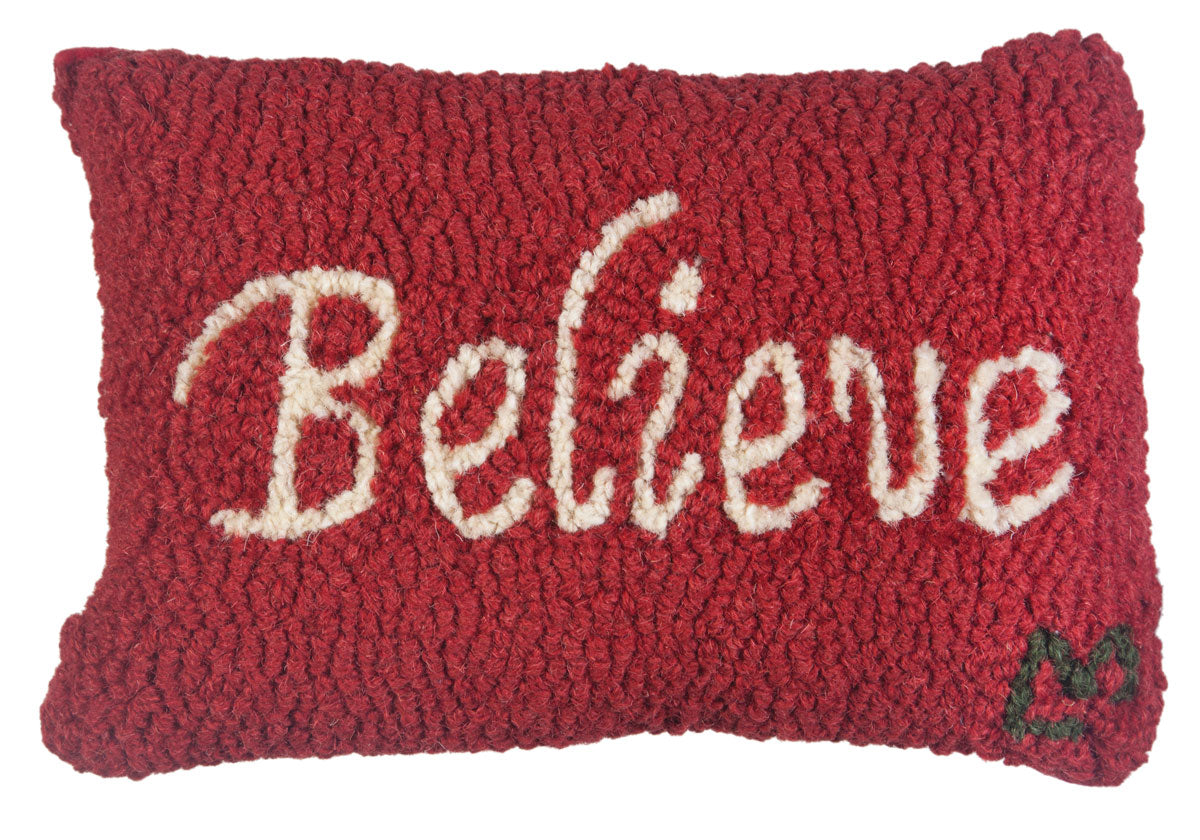 Believe Wool Pillow