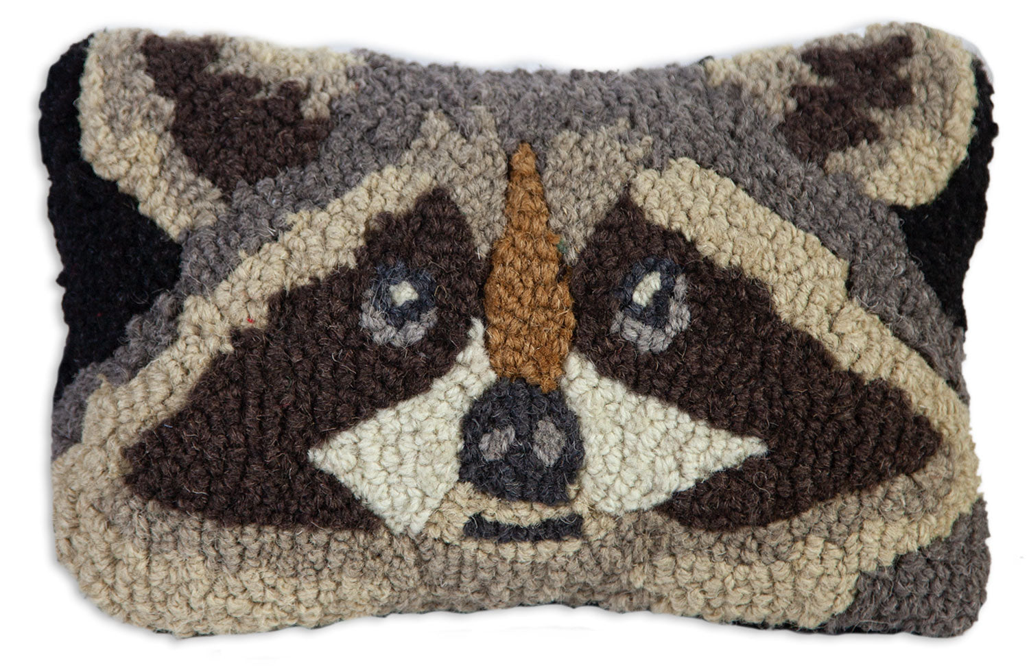 Racoon | Wool Pillow