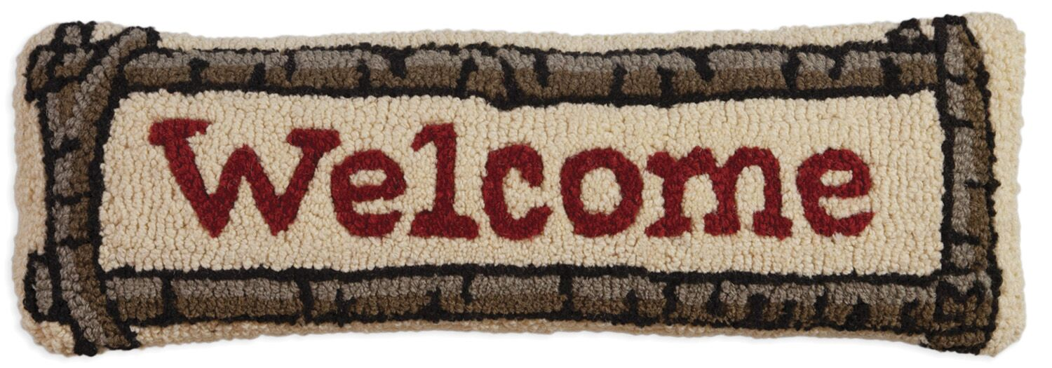 Welcome | Wool Pillow