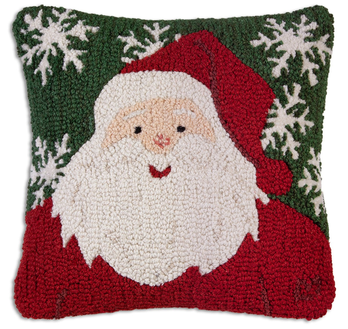 Winter Santa Wool Pillow
