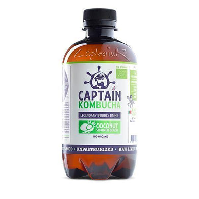 CAPTAIN KOMBUCHA COCO BIO 400ML - Mercearia Plano D