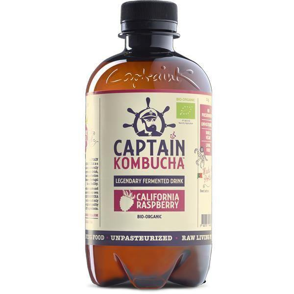 CAPTAIN KOMBUCHA FRAMBOESA BIO 400ML