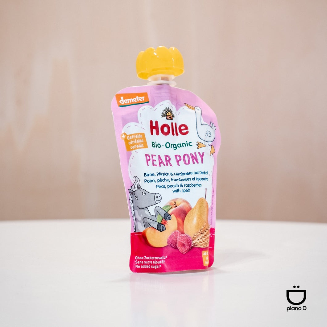 HOLLE PURE PEAR PONY BIO 100G