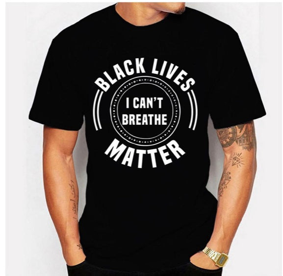 I can't breathe BLM unisex shirt