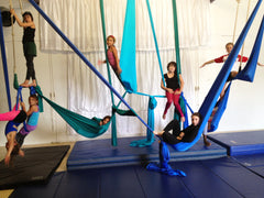 Kids' Mixed Beginner Aerial 8+ (Fall)