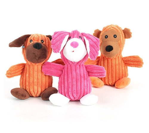 Squeaky Plush Toy - The Pet Supply