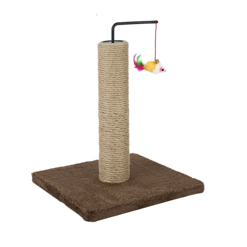 Scratch Post With Fish - The Pet Supply