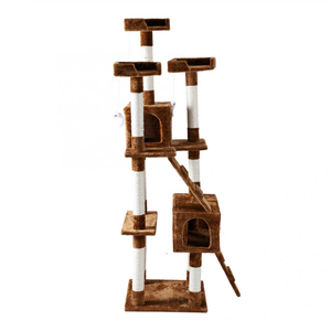 5 Story Scratching Tree - The Pet Supply