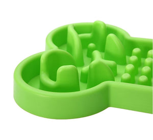 Slow Eating Bowl - Bone - The Pet Supply