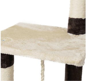 4 Story Scratching Tree - The Pet Supply