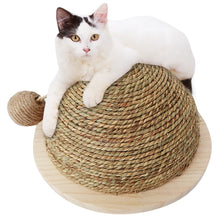 Load image into Gallery viewer, Half Sphere Sisal Scratcher - The Pet Supply