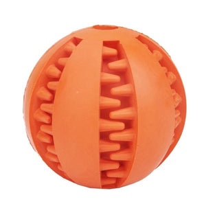 Toothy Dog Treat Chew Ball