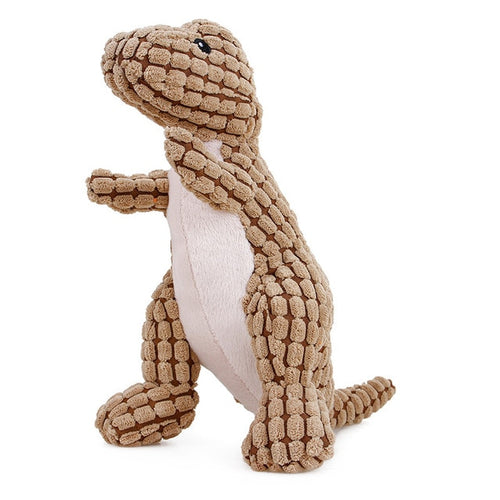 Cuddly Dinosaur Chew Toy - The Pet Supply