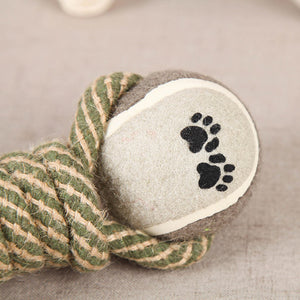 Rope Dumbbell Dog Toy