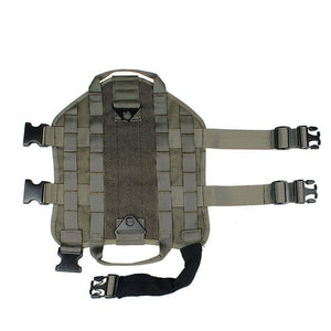 Tactical Training Vest Harness - The Pet Supply