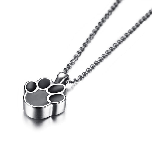 Dog Paw Urn Necklace - The Pet Supply