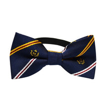 Load image into Gallery viewer, Classic Stripe Dog Bow Tie Collar - The Pet Supply