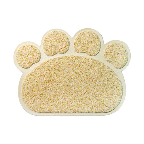 Paw Shaped Cat Litter Mat - The Pet Supply