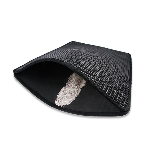 Double Layer Cat Litter Mat - The Pet Supply