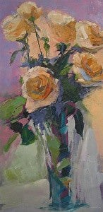 """WHITE ROSES"" BY ANN WATCHER"