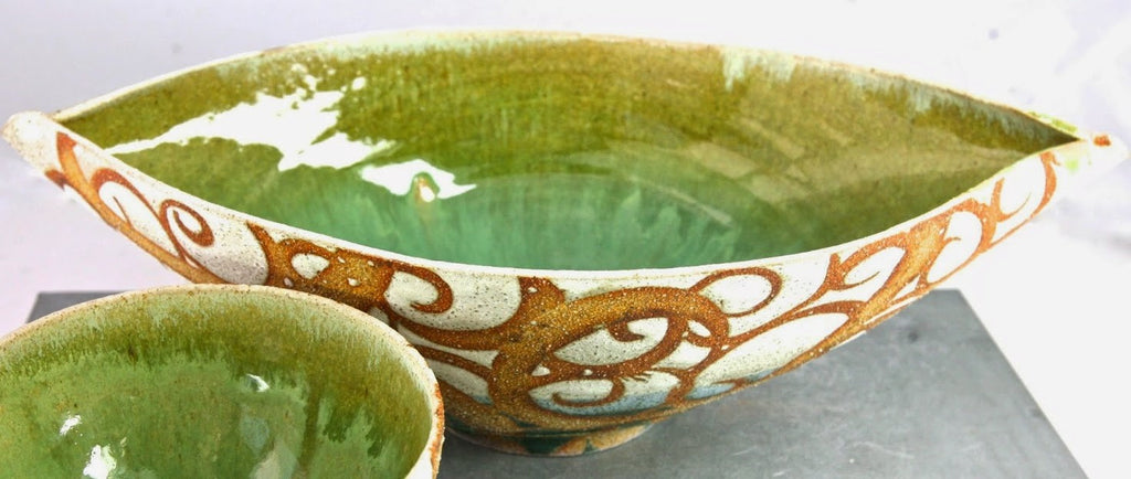 LIZ KINDER 'SPRING WILL COME AGAIN'  BOWL