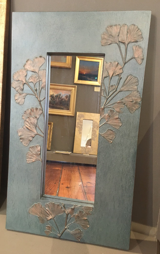 "24 x 14"" GINGKO MIRROR BY DEB CHILDRESS"