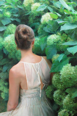 'AMONG THE HYDRANGEAS' BY ANNA ROSE BAIN