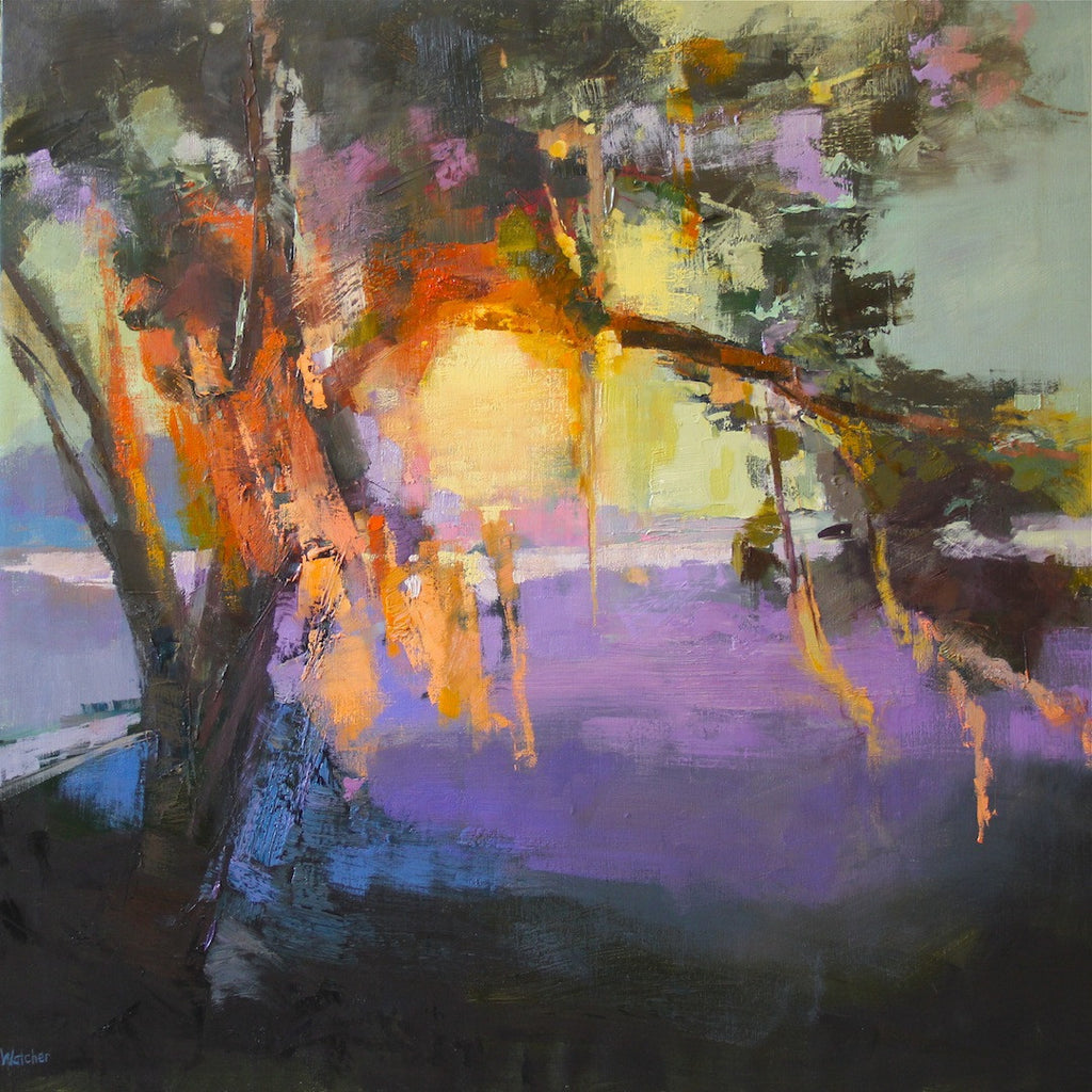 *SOLD*'CHARLESTON SUNSET' BY ANN WATCHER
