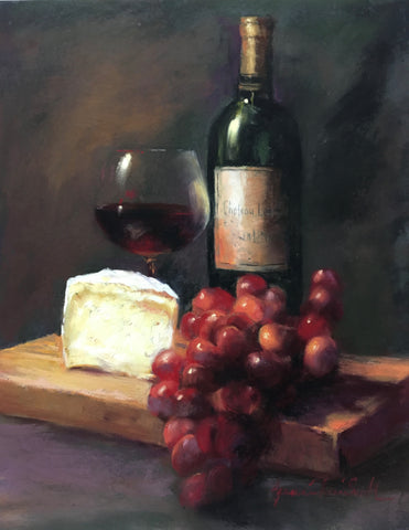 "SOLD ""A BOTTLE OF RED"""