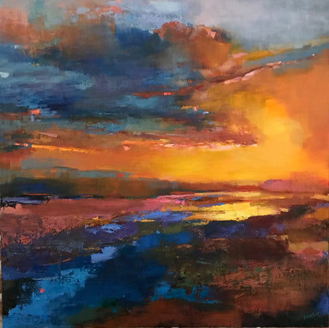 *SOLD* 'BE STILL' BY ANN WATCHER