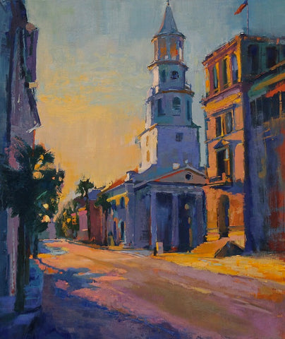 """BROAD STREET SUNRISE"" BY ANN WATCHER"