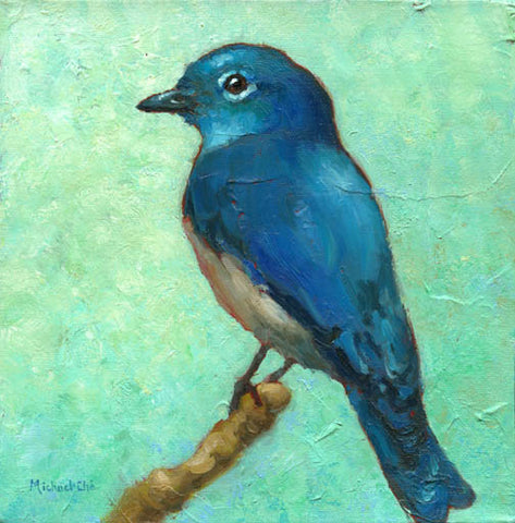 *SOLD* 'BLUE MONDAY' BY MICHAEL-CHE SWISHER
