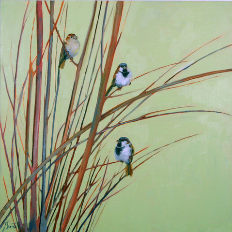 *SOLD* 'BRANCH PARTY' BY ELLEN GRANTER